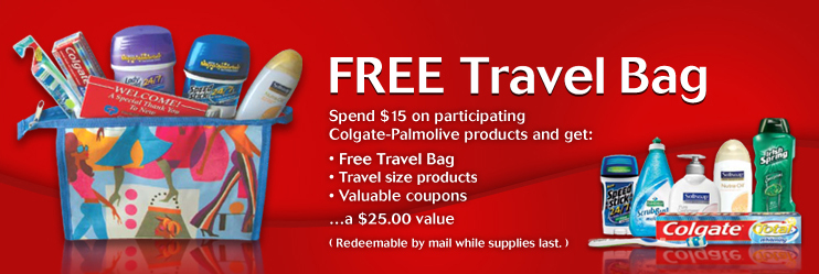 freecarrybag FREE Travel Bag from Colgate