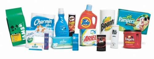 FILES-US-COMPANY-CONSUMER-PROCTER AND GAMBLE